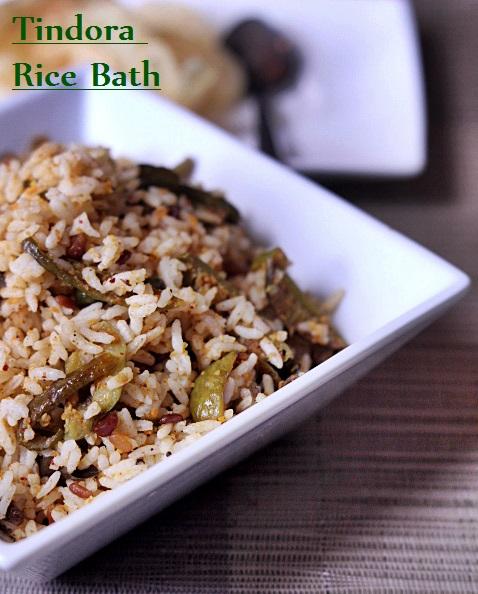 Tindora Rice Bath