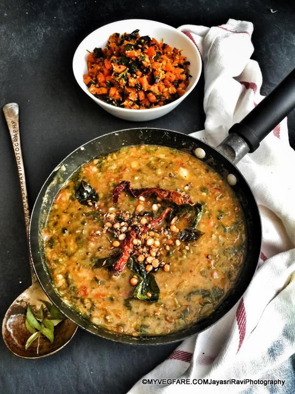 Fenugreek and Dill Leaves Dal