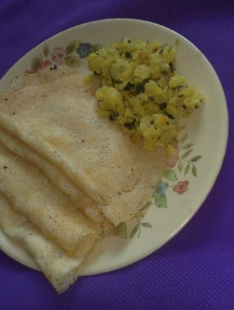 Puffed Rice / Kallepuri (Mandakki puri) Dosa
