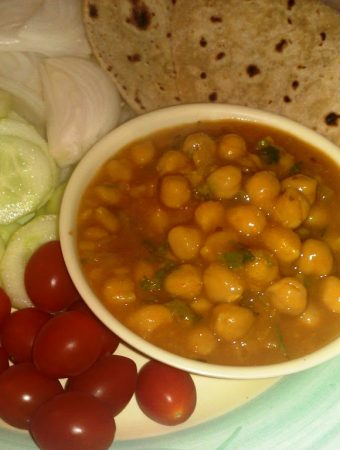chickpea dal / Kabooli channa Dal / White Garbanzo beans Dal