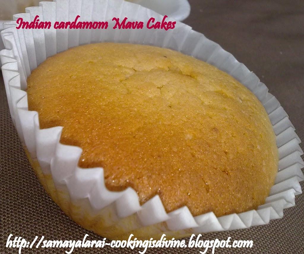 Indian Cardamom Mawa cakes - My Veg Fare