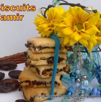 Biscuits Tamir (Eggless and Egg Version)