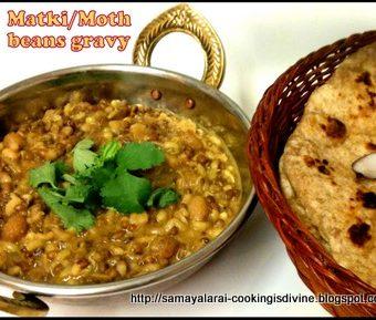Misal/Usal from Matki/Moth Beans gravy, Authentic Maharastrian style