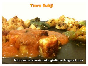 Tawa Subzi