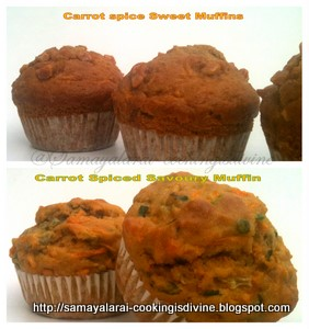 Carrot spice and sweet Muffins – Muffin Monday