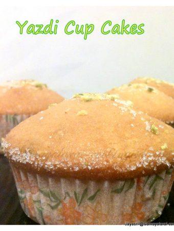 Yazdi Cup Cakes – Eggless