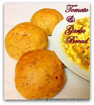 Tomato & Garlic Bread
