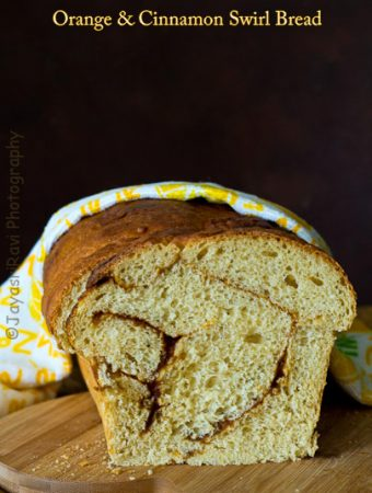 We Knead to Bake #27 – An Orange and Cinnamon Roll