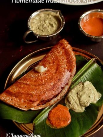 Home made Masala Dosa Mix (Ready made Dosa mix)