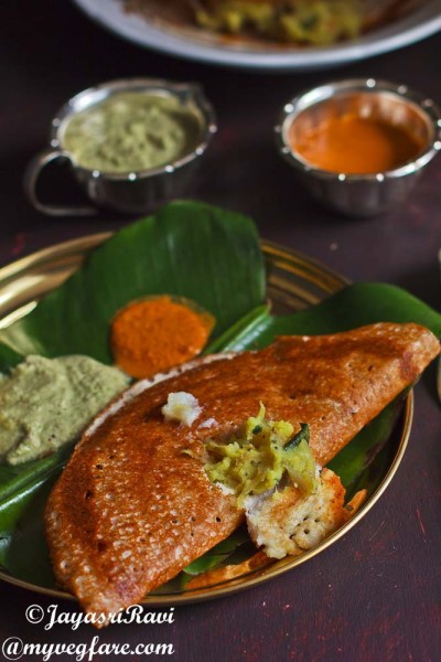 Home made Masala Dosa Mix