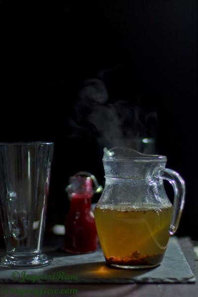 cranberry green tea