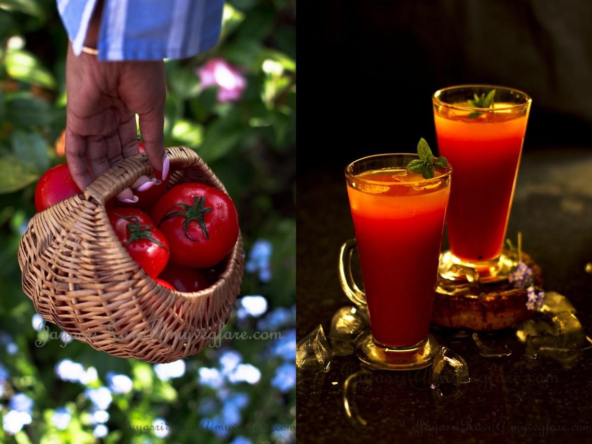 A simple Tomato juice