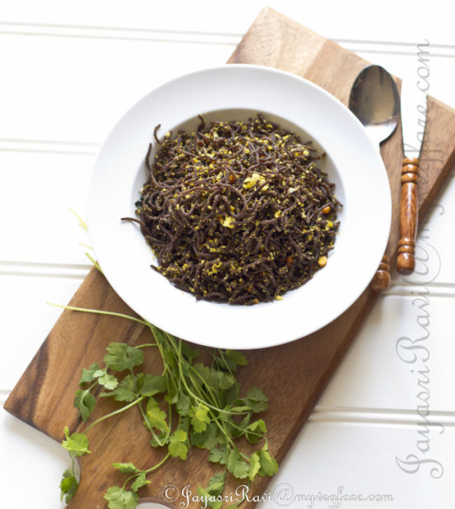 Ragi Semiya (noodles)