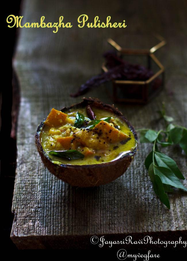 sweet mango curry
