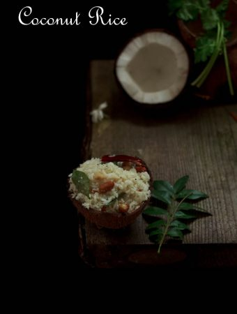 Coconut Rice (two ways)