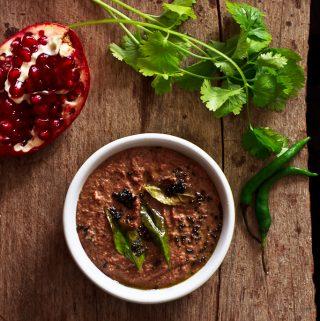 Pomegranate chutney, Indian chutney recipes