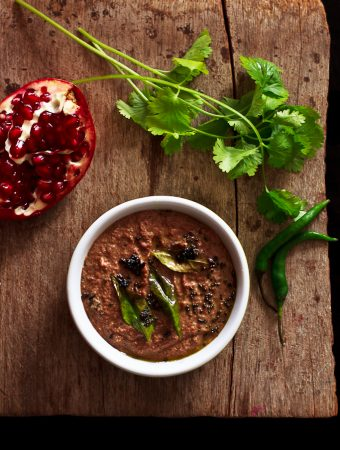 Pomegranate chutney, Indian chutney recipes