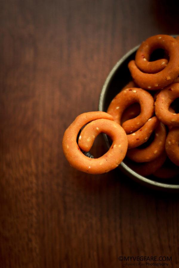 karnataka cuisine, kodubale / kodbale, snacks