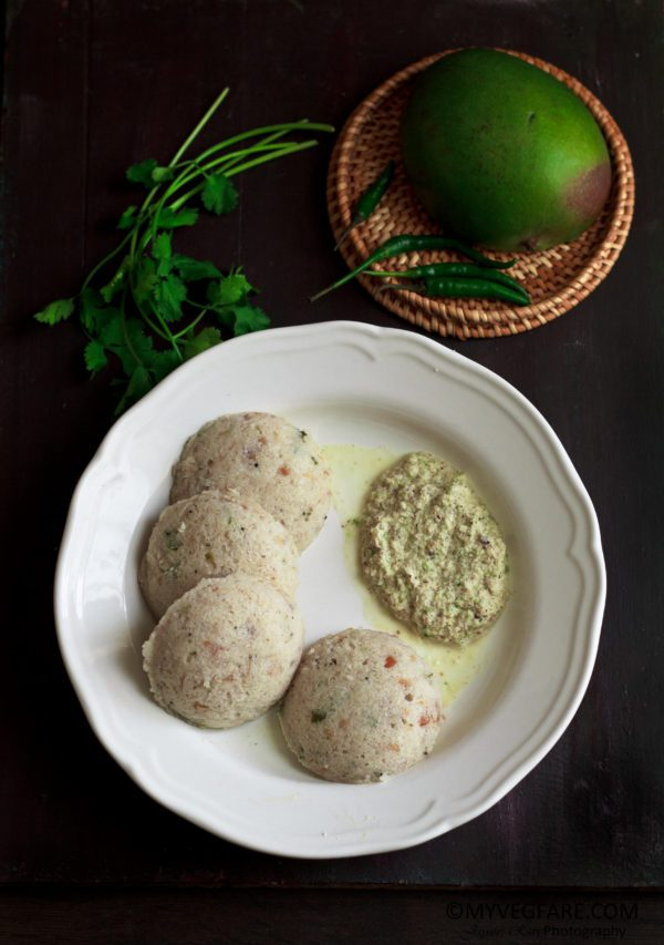 Idli made with Mango