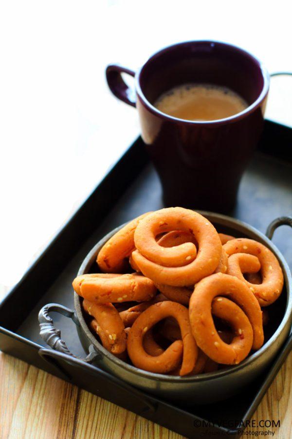 kodubale / kodbale, karnataka cuisine, snacks