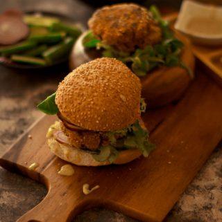 Burgers - Quinoa and cannellini