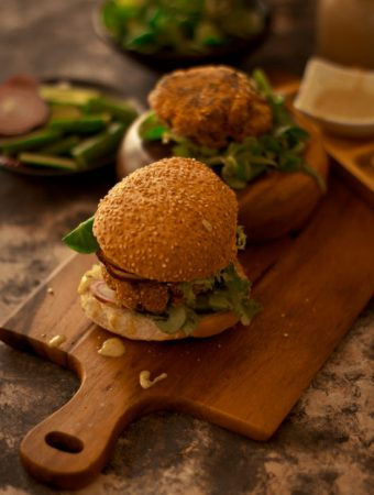 Burgers - Quinoa and cannellini