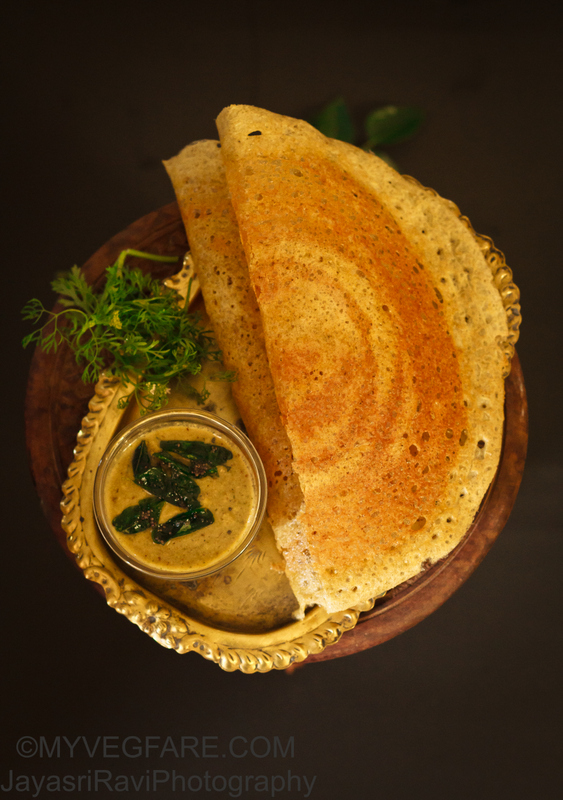Proso Millet and Green gram Dosa / Idli